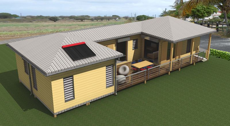 Maisons container a mn architecture guadeloupe for Logement conteneur